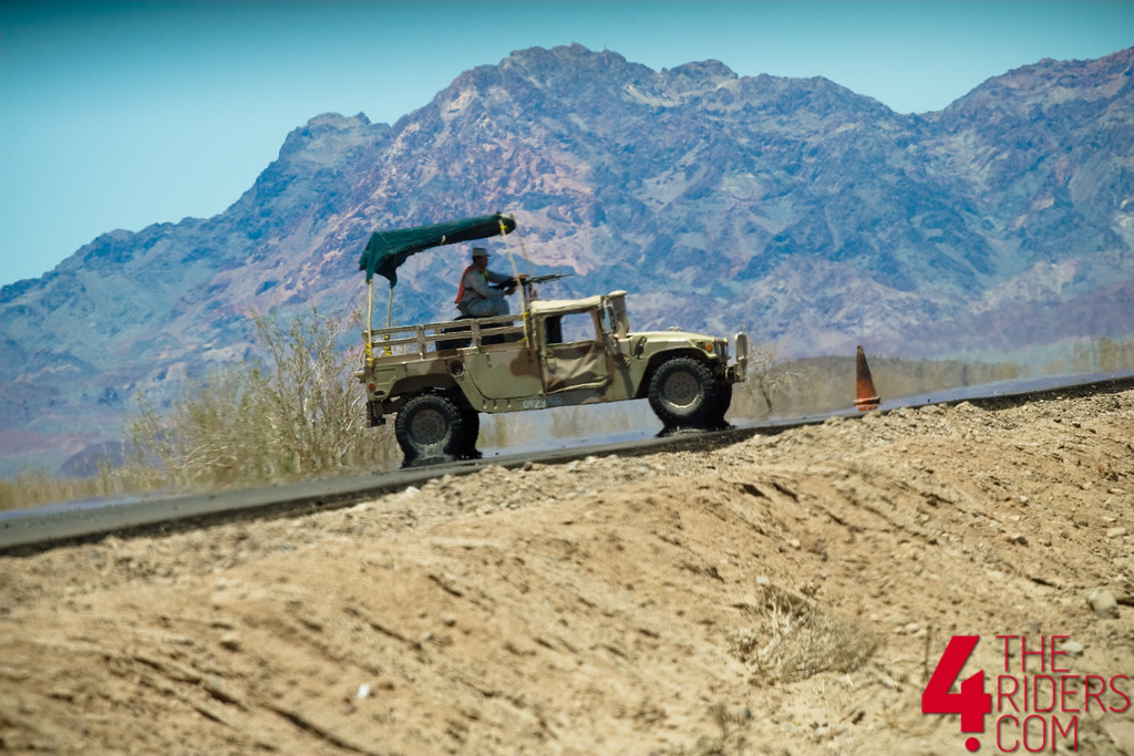 military checkpoint baja mexico hummer gunner